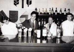 1969 Profesor Jose M Rodriguez con José Carballeira