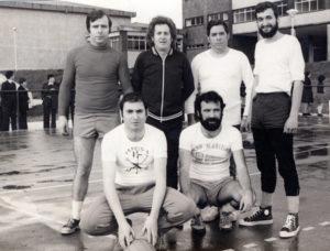 1976-Actividade deportiva-Profesorado-Alumnado
