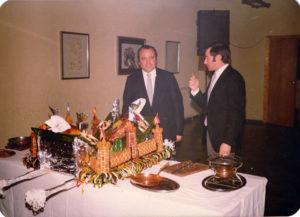 Manuel B. Hermida e Juan Guerra-Cena de Gala