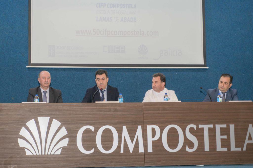Inauguración 50 aniversario CIFP Compostela