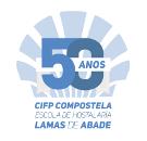 logo 50 aniversario CIFP Compostela